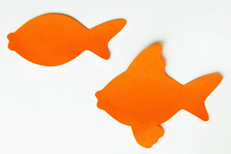 3D Goldfish Bowl Craft