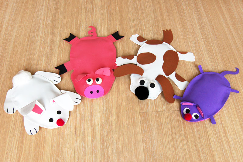 Animal Bean Bags craft