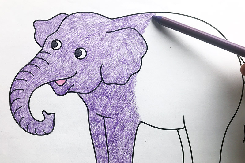 photograph about Printable Elephant Stencil referred to as Elephant Absolutely free Printable Templates Coloring Web pages