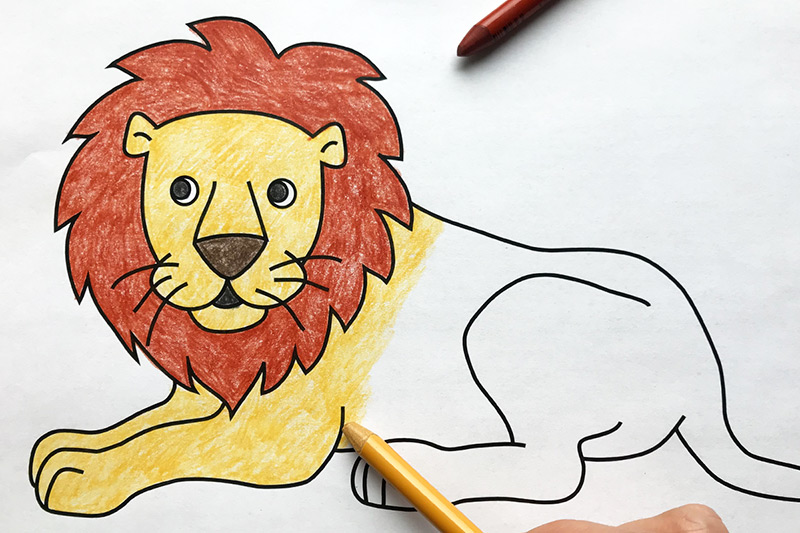 Lion Free Printable Templates