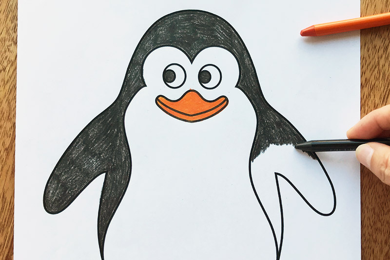 Penguin Free Printable Templates Coloring Pages Firstpalette Com