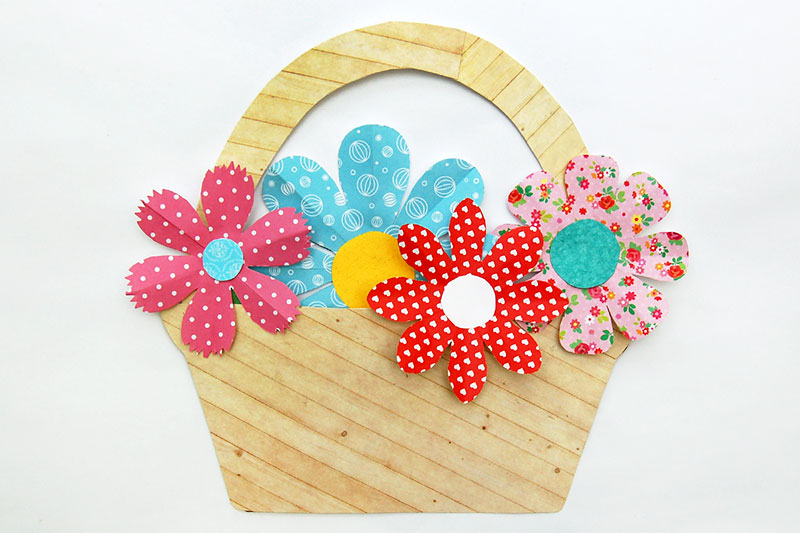 Basket of Flowers Craft
