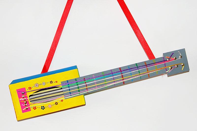 Box Guitar Kids Crafts Fun Craft Ideas Firstpalette Com