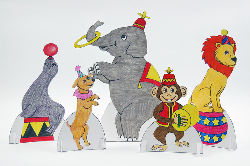 Circus Animals Free Printable Templates Coloring Pages Firstpalette Com