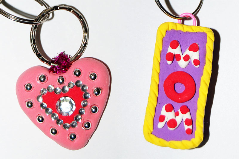 Clay Charms craft