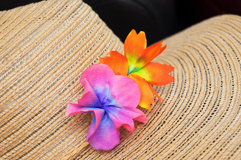 Coffee Filter Flowers - Beach
