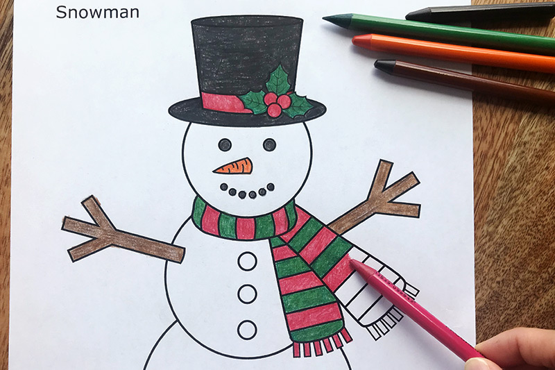 image relating to Free Printable Snowman referred to as Snowman Totally free Printable Templates Coloring Internet pages