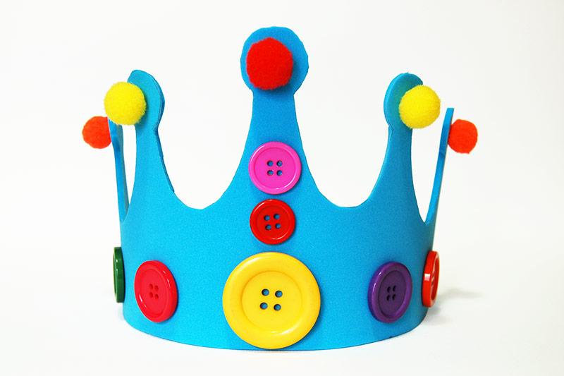 Craft Foam Crown Kids Crafts Fun Craft Ideas