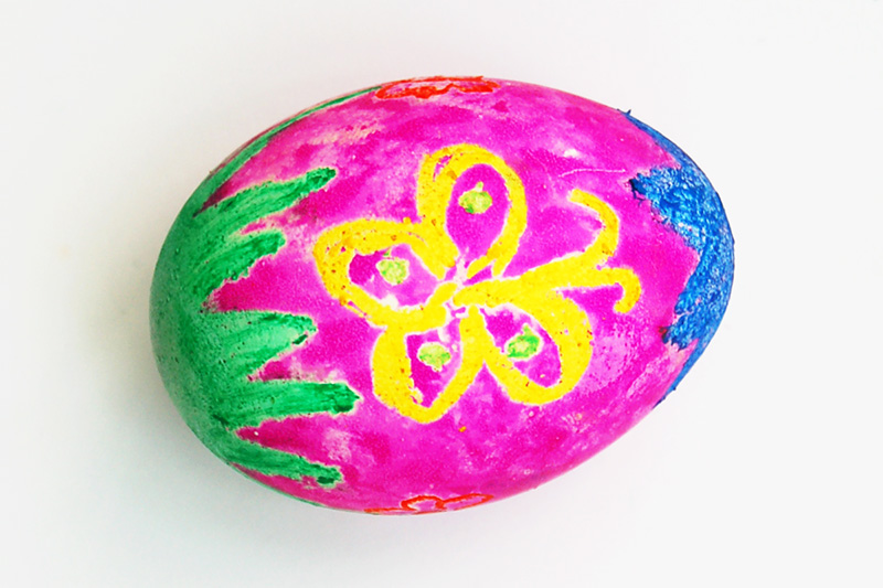 Crayon Resist Eggs 2