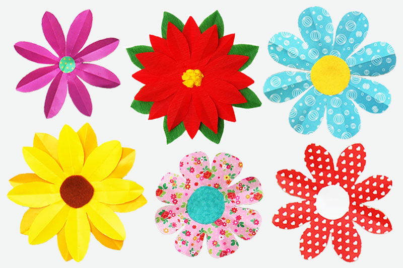 Flower Plant Crafts For Kids Fun Craft Ideas Firstpalette Com