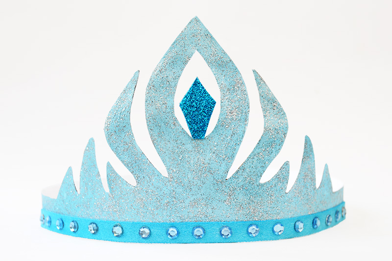 graphic regarding Princess Crowns Printable named Frozen Princess Crown Templates No cost Printable Templates