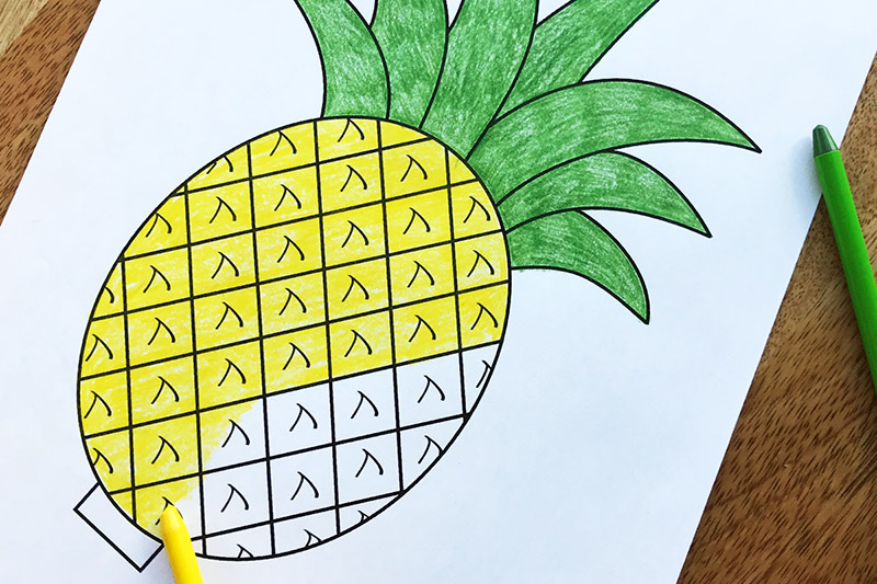 graphic relating to Free Printable Pineapple identify Pineapple Cost-free Printable Templates Coloring Internet pages