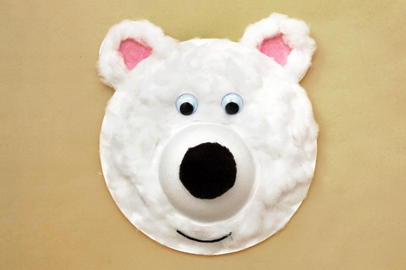 Panda Paper Plate Craft