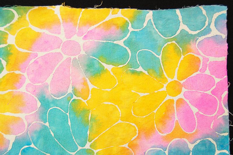 Glue Batik Kids Crafts Fun Craft Ideas Firstpalette Com