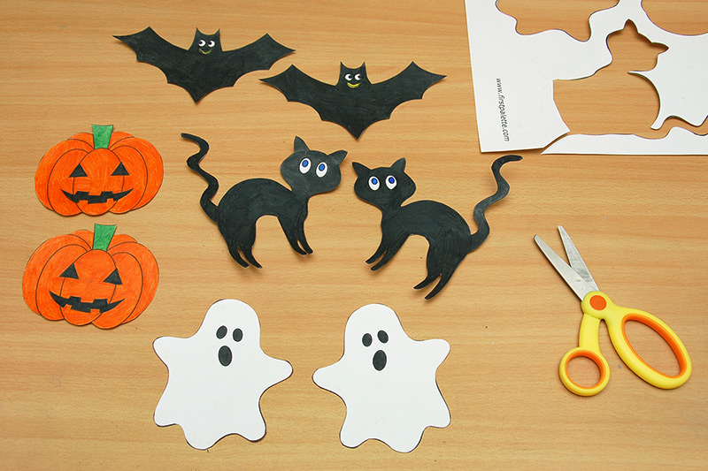 Ghosts Free Printable Templates