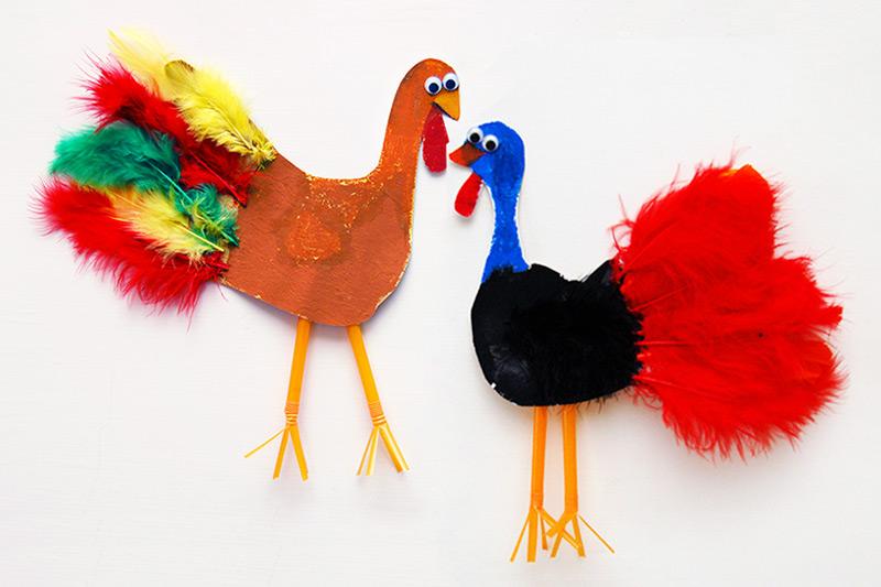 Handprint Birds Kids Crafts Fun Craft Ideas