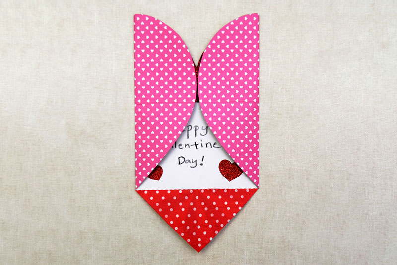 Heart Card and Envelope - Template 3