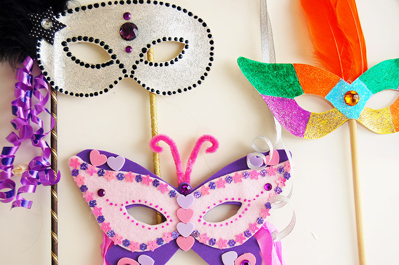 Masquerade Mask craft