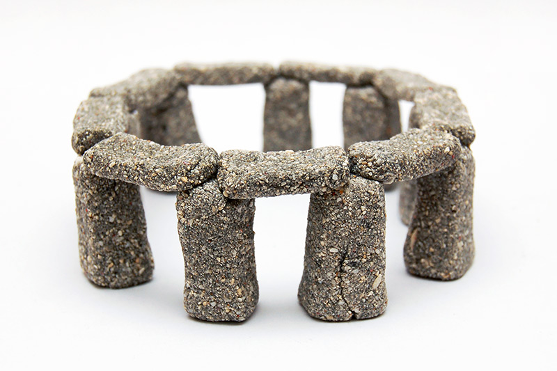 Miniature Stonehenge craft