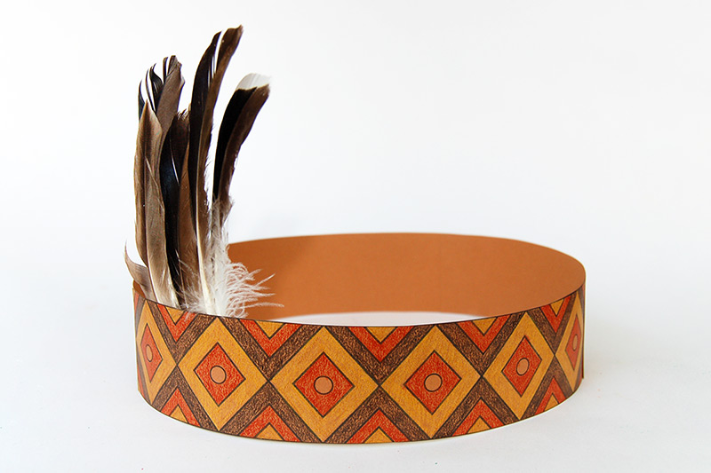 Native American Headband Craft