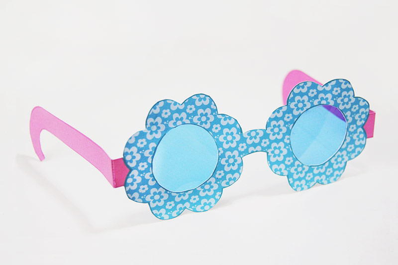 Paper Eyeglasses Kids Crafts Fun Craft Ideas