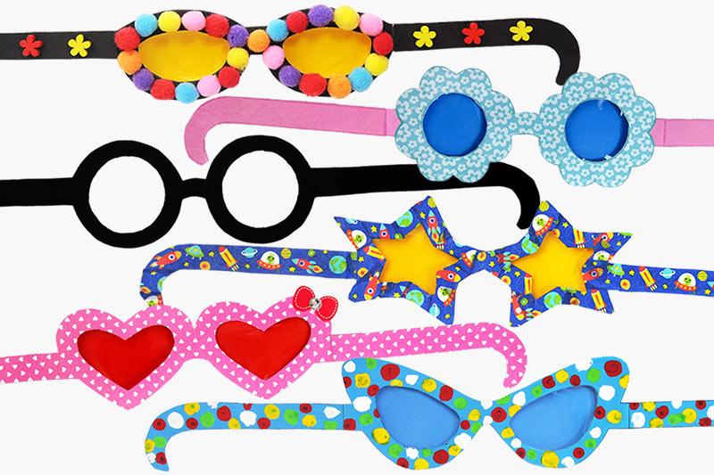 Paper Eyeglasses Kids 39 Crafts