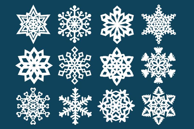 Paper Snowflake Kids Crafts Fun Craft Ideas Firstpalette Com