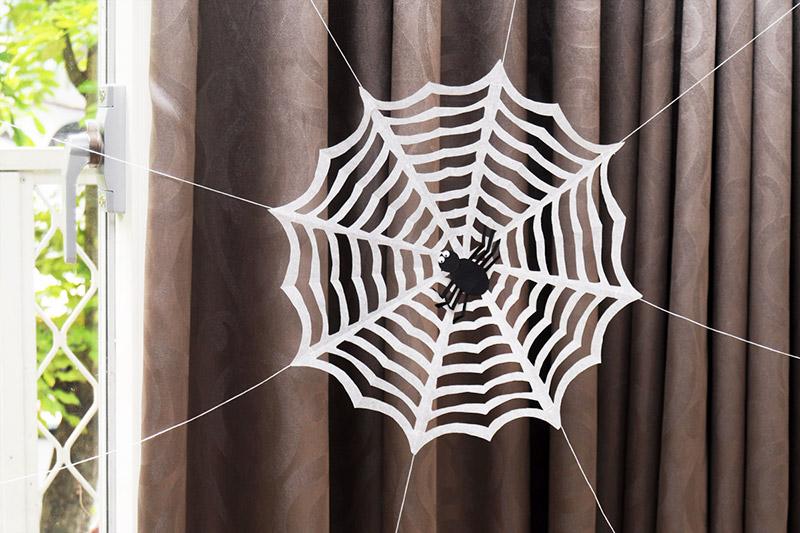 Paper Spider Web Kids Crafts Fun Craft Ideas