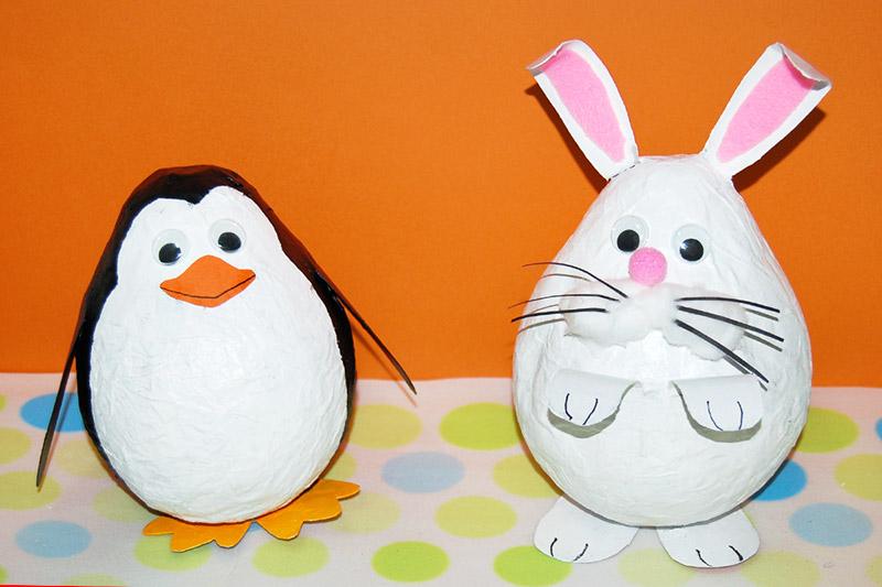 Papier Mache Bunny | Kids' Crafts | Fun Craft Ideas | FirstPalette.com