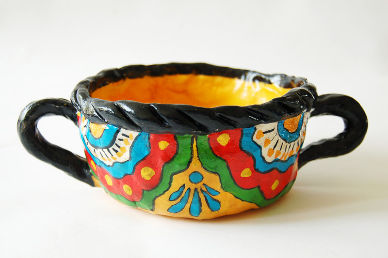 Mexican-Inspired Pinch Pot