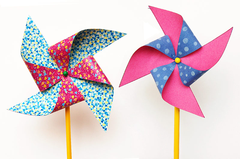 photo relating to Printable Paper Crafts for Adults referred to as Pinwheel Small children Crafts Enjoyable Craft Guidelines
