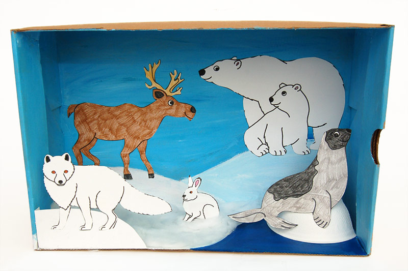 Arctic Animals Coloring Pages by The Kinder Kids | TpT | 533x800