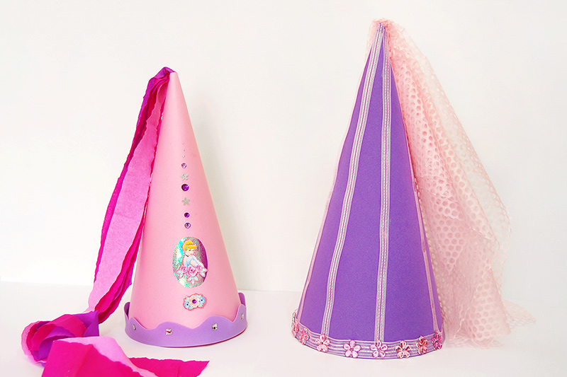 Princess Cone Hat craft