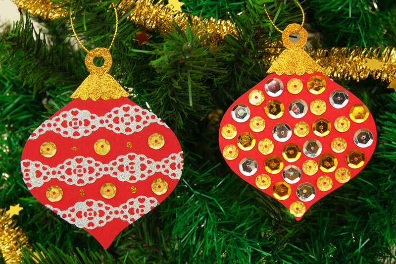 Printable Christmas Tree Ornaments