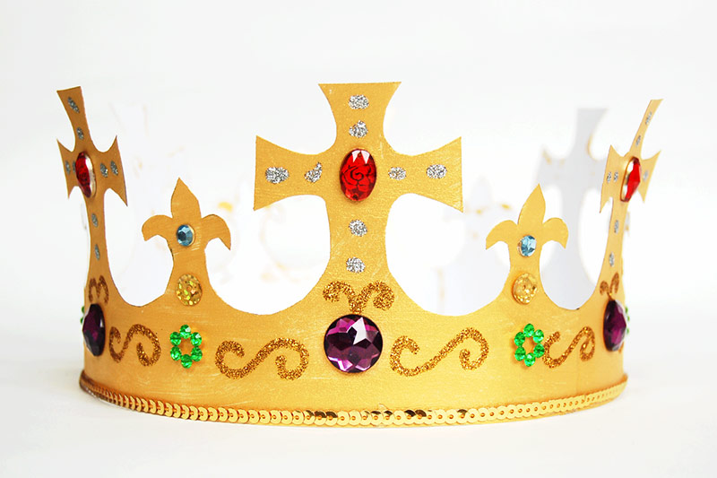 Royal Paper Crown Craft