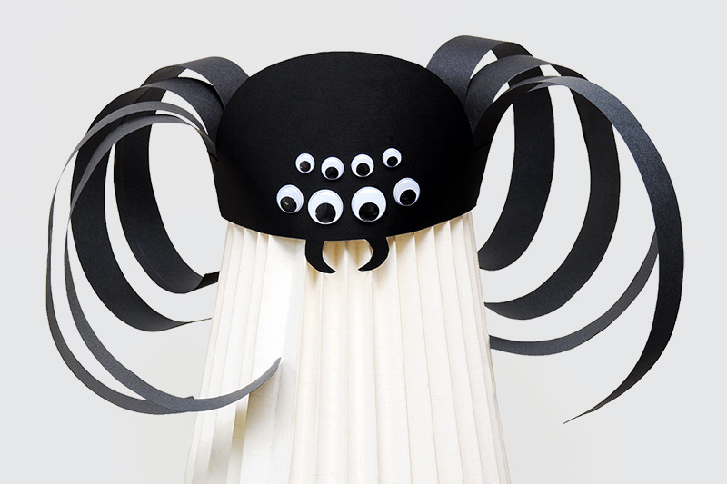 Step 14 Spooky Spider Hat