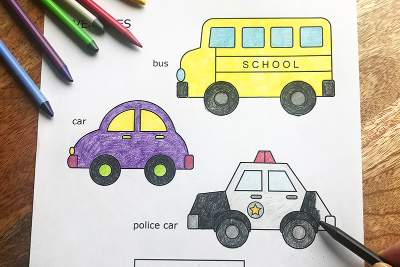 Cars And Vehicles Free Printable Templates Coloring Pages Firstpalette Com
