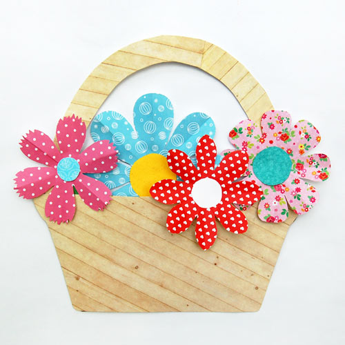 MORE IDEAS - Use the flowers for craft projects.