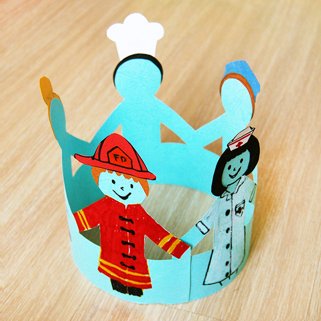 Crown Of Friends Kids Crafts Fun Craft Ideas