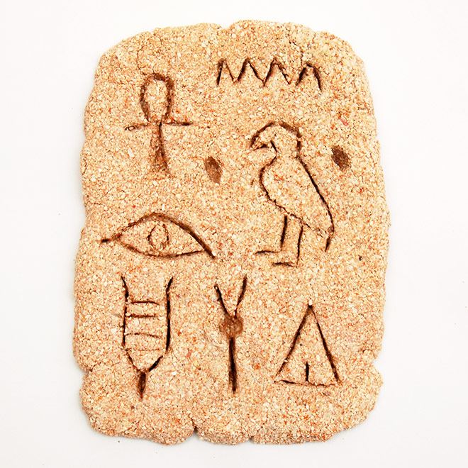 Egyptian Hieroglyphic Stone craft