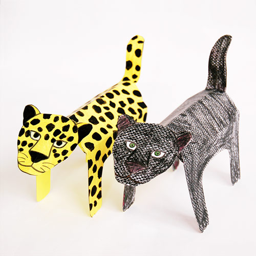 MORE IDEAS - Make several types of wild cats.