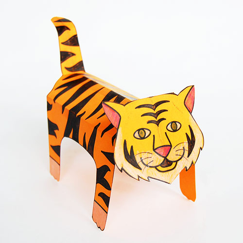 Step 16 Folding Paper Zoo Animals