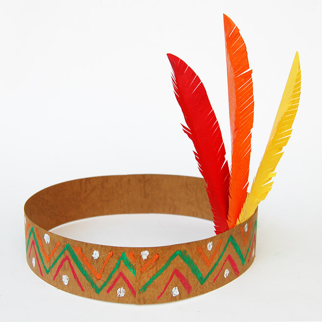 Native American Headband without Template