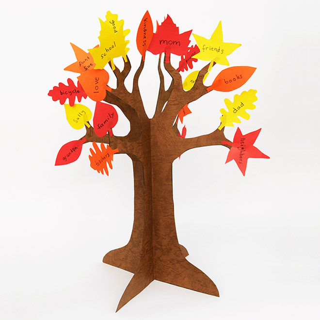 Thankful Tree Kids Crafts Fun Craft Ideas