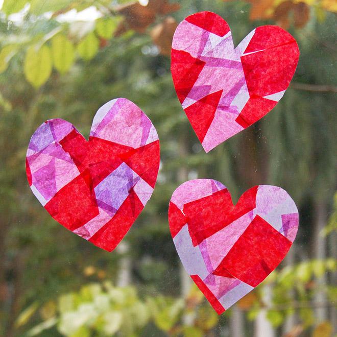 Tissue Paper Suncatchers Kids Crafts Fun Craft Ideas