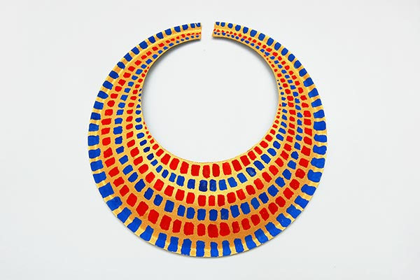 Ancient Egyptian Collar or Necklace craft