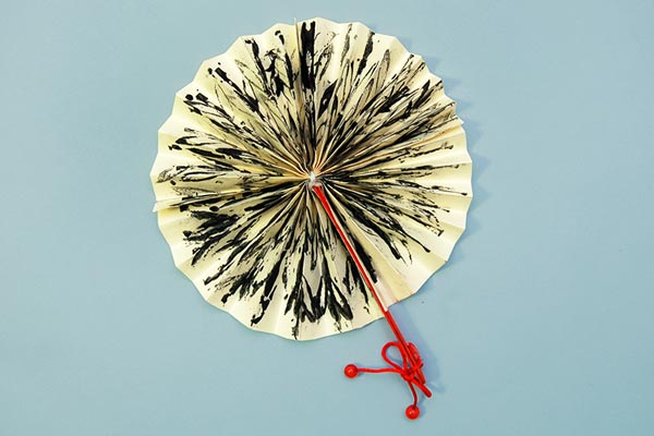 Asian Folding Fan craft