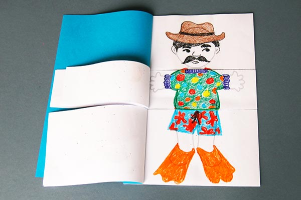 Body Flipbook craft