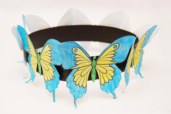 Butterfly Crown craft