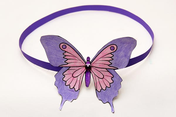 Butterfly Headband craft